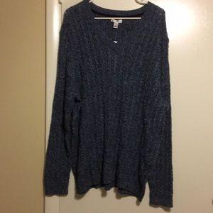 Croft and Barrow Sweater Sz 3X NWT
